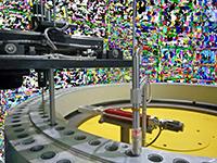 智能全自动深孔喷涂机
